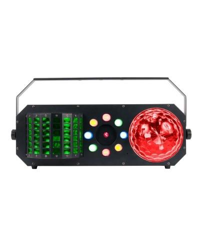 Effet BOOM BOX F1 à LED ADJ 4 en 1 DMX