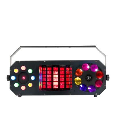 Effet BOOM BOX F2 à LED ADJ 4 en 1 DMX