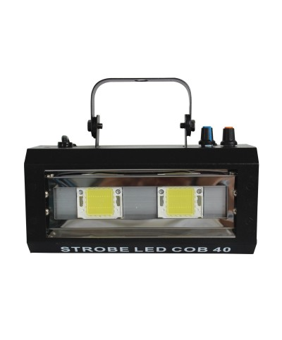 Stroboscope 40W  2 LEDs Blanches Power Lighting STROBE LED COB 40