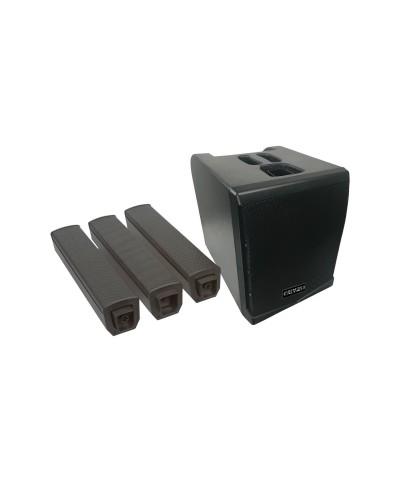 Système amplifié de type colonne 500W RMS Definitive Audio VORTEX 500 L1