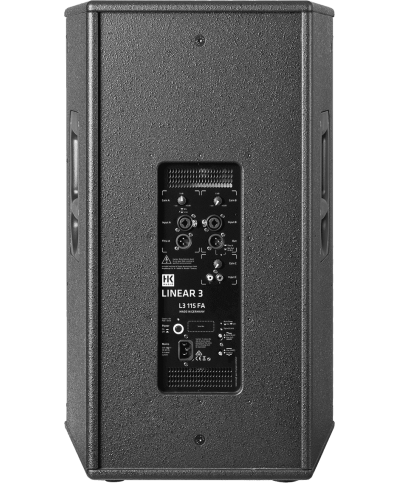 LINEAR 3 115FA Enceinte 2 voies active ampli 1.2kWrms HK Audio