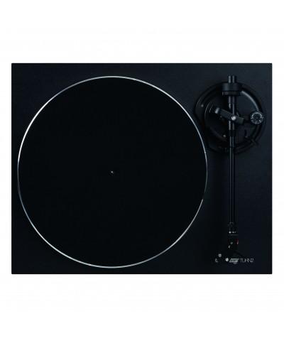 Platine vinyle Hifi TURN2 noir avec bras de lecture droit Reloop