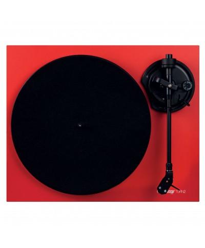 Platine vinyle Hifi TURN2 rouge avec bras de lecture droit Reloop Hifi