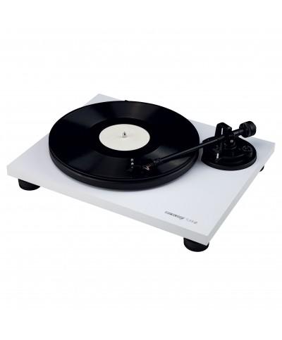 Platine vinyle Hifi TURN2 blanc avec bras de lecture droit Reloop Hifi