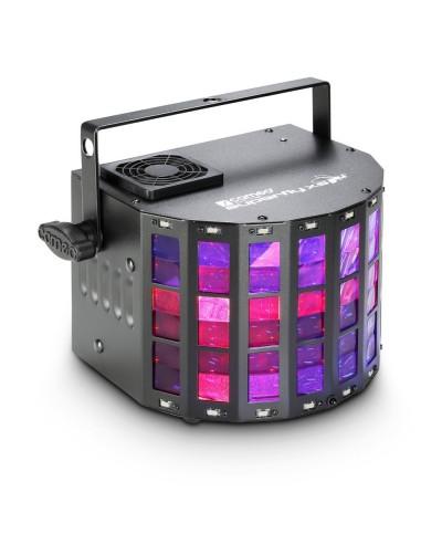 Effet Derby et Stroboscope CAMEO SUPERFLY XS RGBW 4 Leds de 3W