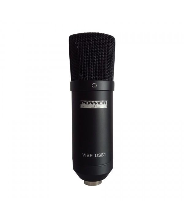 Micro de studio USB Power Studio VIBE USB1