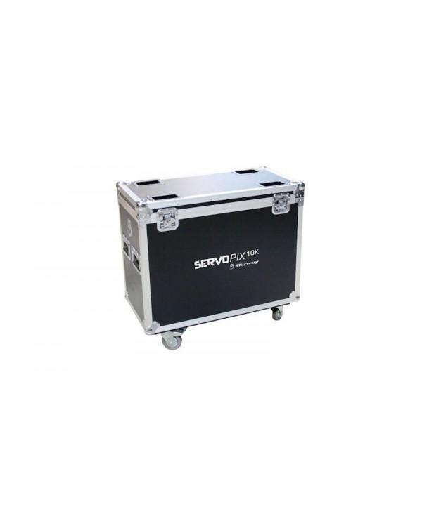 STARWAY Servo Pix 10K en Flight-Case Projecteur automatique. Vendu par 2 en flight-case indissociable