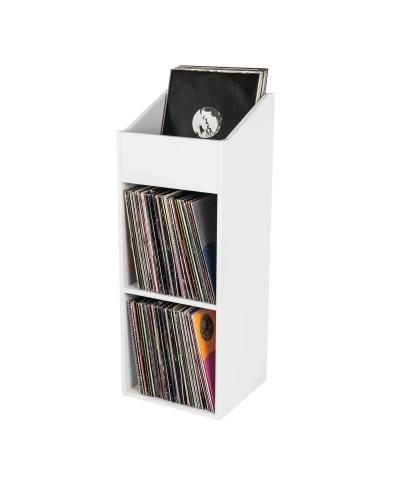 Casier de rangement 330 vinyles finition blanc Glorious Dj RECORD BOX 330 WHITE