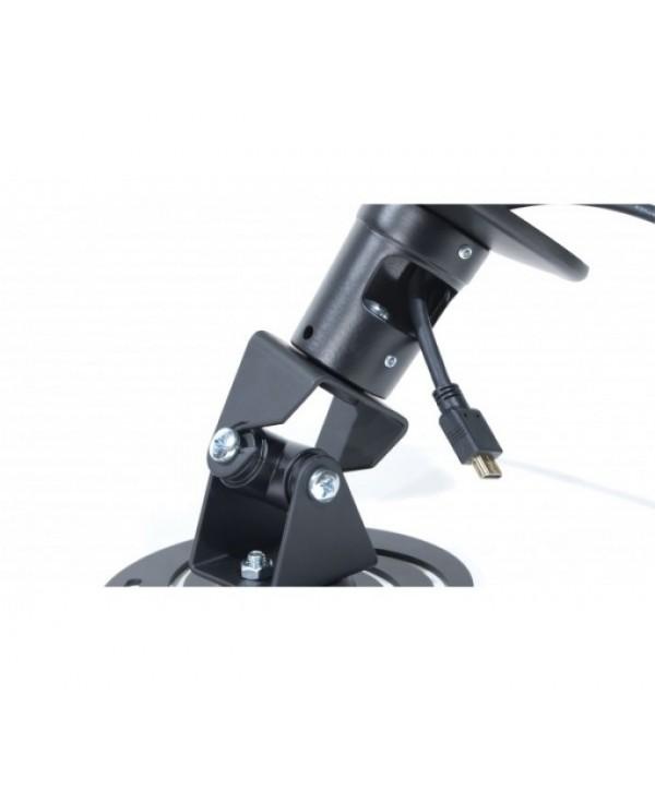 Support Plafond Vidéo-Projecteur Bras de 220mm Platine