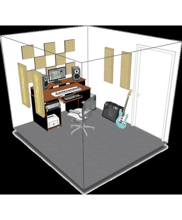 Kit de traitement acoustique pour 9 m² beige Primacoustic