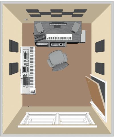Kit de traitement acoustique pour 9 m² noir Primacoustic