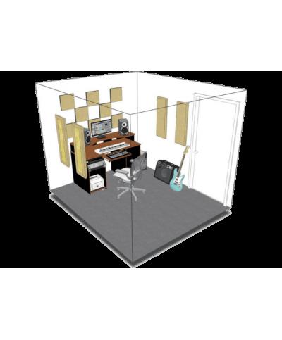 Kit de traitement acoustique pour 9 m² à peindre Primacoustic