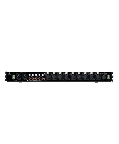 Mixer de Zones Stéréo BST T2S01 9 Entrée + 1PPT 2 Zones Rack 19P