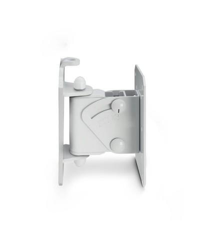 Fixation murale pivotante et inclinable pour enceintes jusqu'à 20 kg, blanc Gravity SP WMBS 20 W