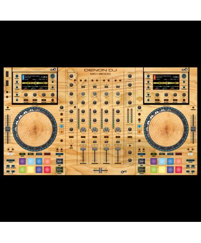 Dj Skins Denon DJ MCX 8000 WOODY Skin