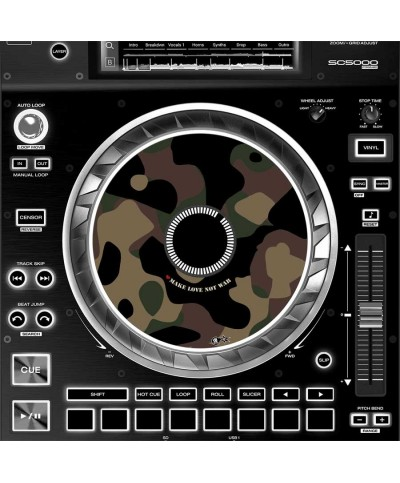 Dj Skins Denon DJ SC 5000 JOGWHEEL PEACEMAKER Skins la paire