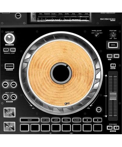 Dj Skins Denon DJ SC 5000 JOGWHEEL WOODY Skins la paire