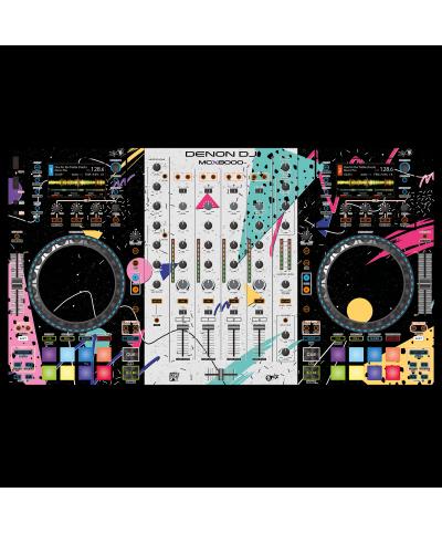 Dj Skins Denon DJ MCX 8000 SYNTHWAVE MIZUCAT Skin