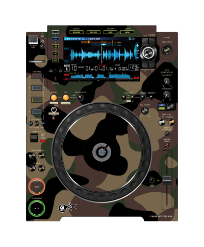 Dj Skins Pioneer DJ CDJ 2000 NXS 2 PEACEMAKER Skin