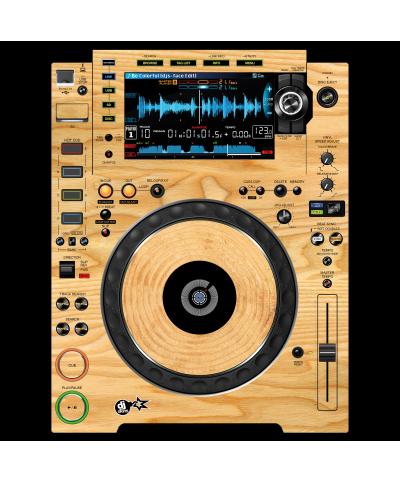 Dj Skins Pioneer DJ CDJ 2000 NXS 2 WOODY Skin