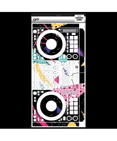 Dj Skins Pioneer DJ DDJ 1000 SYNTHWAVE MIZUCAT Skin