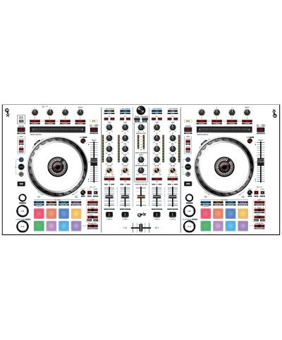 Dj Skins Pioneer DJ DDJ SX 2 WHITE aka STAR TROOPER Skin