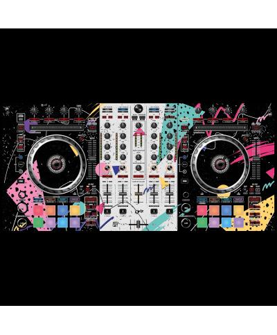 Dj Skins Pioneer DJ DDJ SX 2 SYNTHWAVE MIZUCAT Skin