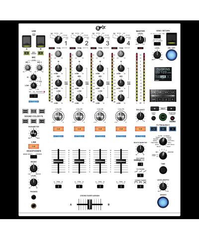 Dj Skins Pioneer DJ DJM 900 NXS 2 WHITE aka STAR TROOPER Skin