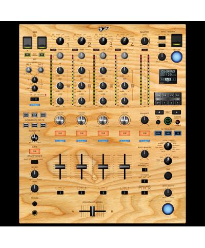 Dj Skins Pioneer DJ DJM 900 NXS 2 WOODY Skin