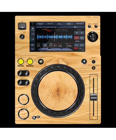 Dj Skins Pioneer DJ XDJ 700 WOODY Skin