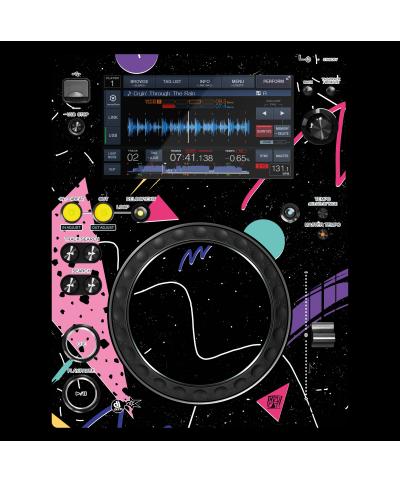 Dj Skins Pioneer DJ XDJ 700 SYNTHWAVE MIZUCAT Skin