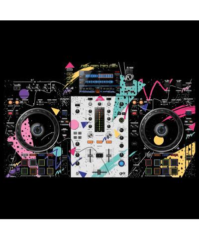 Dj Skins Pioneer DJ XDJ RX 2 SYNTHWAVE MIZUCAT Skin