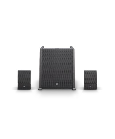 Système line array portable LD Systems CURV 500 AVS avec câbles HP
