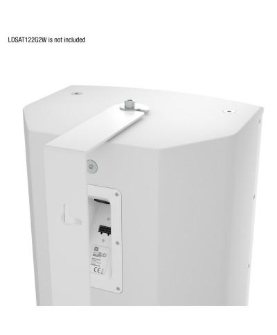 Fixation murale pivotante pour SAT 122 G2 blanc LD Systems SAT 122 G2 WMB W