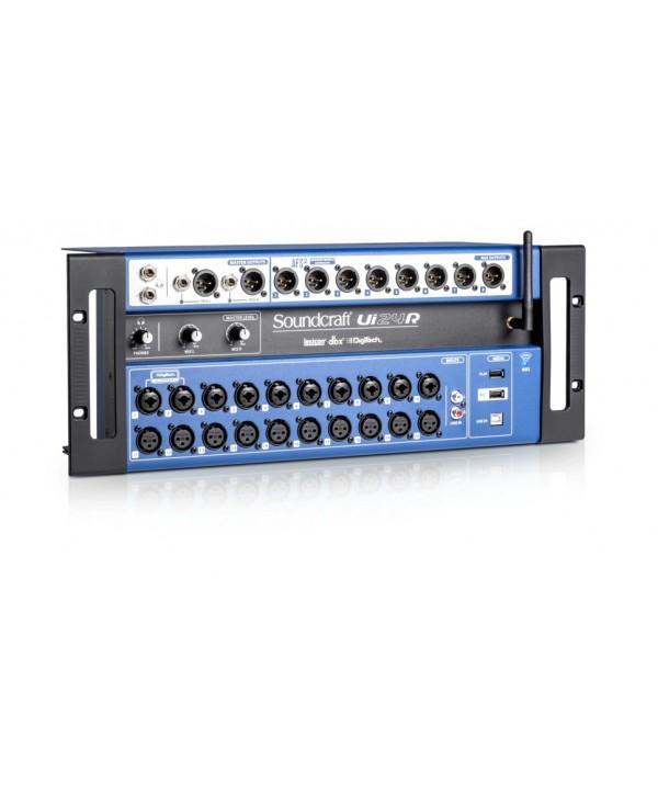 Console de Mixage Numérique UI24R SOUNDCRAFT 24 voies pré-ampli Studer IOS Androïd Win