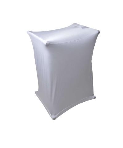 Couverture stand x POWER ACOUSTICS Tissu lycra Blanc