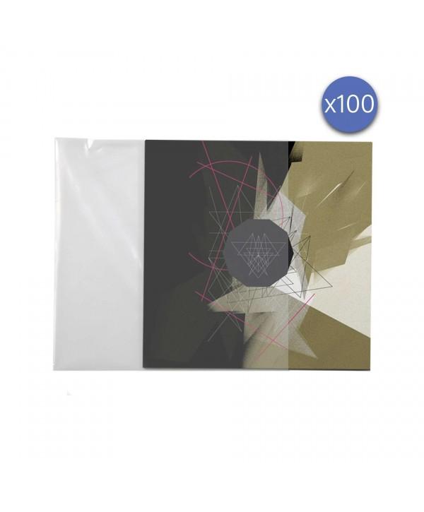 Protection pochette vinyle 33T Enova hifi PEV 100 lot de 100 Pièces