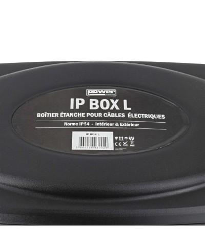 Boîtier IP54 pour câbles électriques POWER ACOUSTICS IP BOX L
