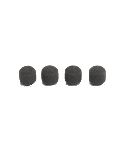 4 bonnettes grises pour micros suspendus Easyflex Shure