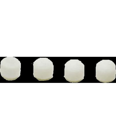 4 bonnettes blanches pour micros suspendus Easyflex Shure