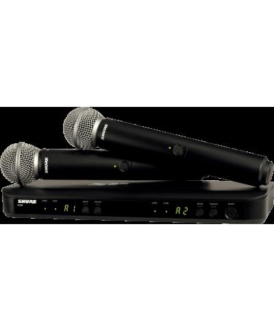SYSTEMES HF Double Main BLX BLX288E-SM58 M17 Shure