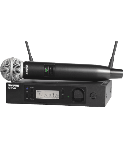 Système HF Shure Main GLX-D Advanced GLXD24RE-SM58 Z2