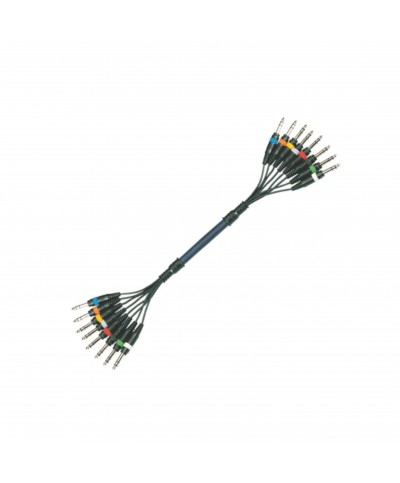 Octopaires 6m 8X XLR 3 PIN Mâle - XLR 3 PIN Femelle POWER ACOUSTICS CAB 2157