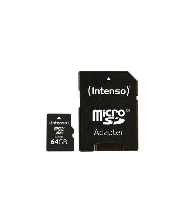 Intenso microSDXC 64GB Class 10 Cartes MicroSD