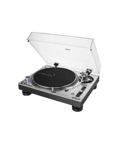 Platine Vinyle AUDIO TECHNICA AT-LP140XP Argent Entrianement Direct