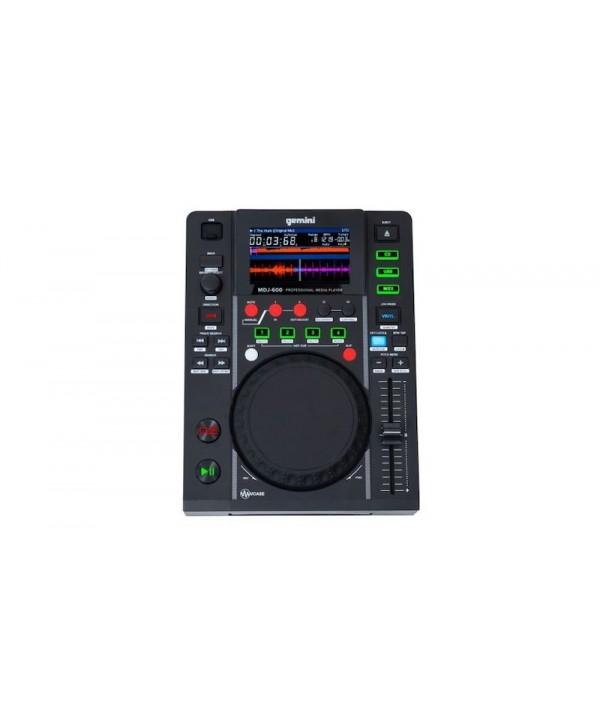 GEMINI MDJ-600 Platine USB/CD à plat compatible MIDI
