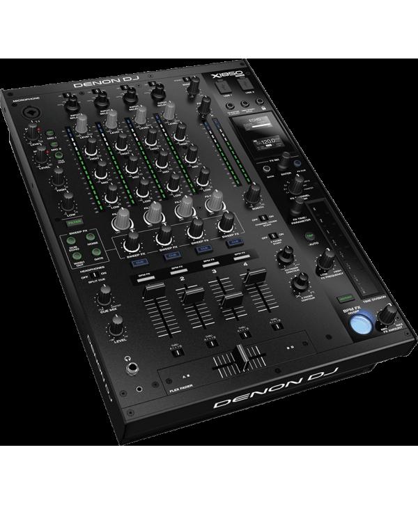 Table de Mixage DENON X1850 PRIME 4 Voies USB DSP 16 Effets