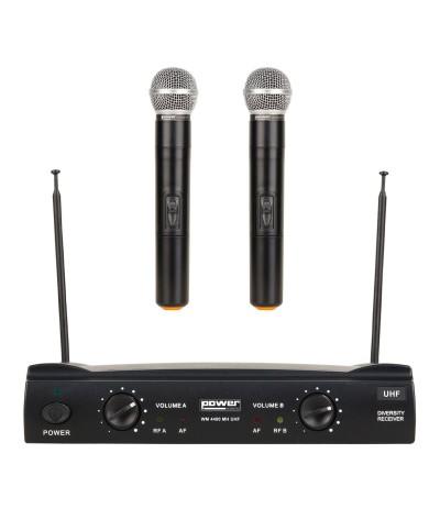 Double Micros Main WM 4400 Power Acoustics WM UHF GR5
