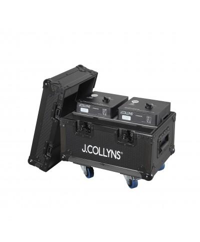 Pack 2 machines à étincelles avec Flight J.Collyns STRAWFIRE 2PACK