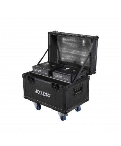 Pack 2 machines à étincelles XL avec Flight J.Collyns STRAWFIRE XL 2PACK